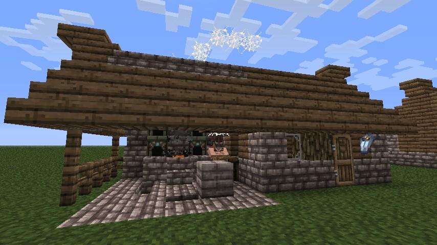 Viking Blacksmith Building Design