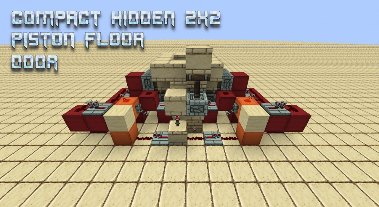 minecraft tutorial how to make a hiden tree door