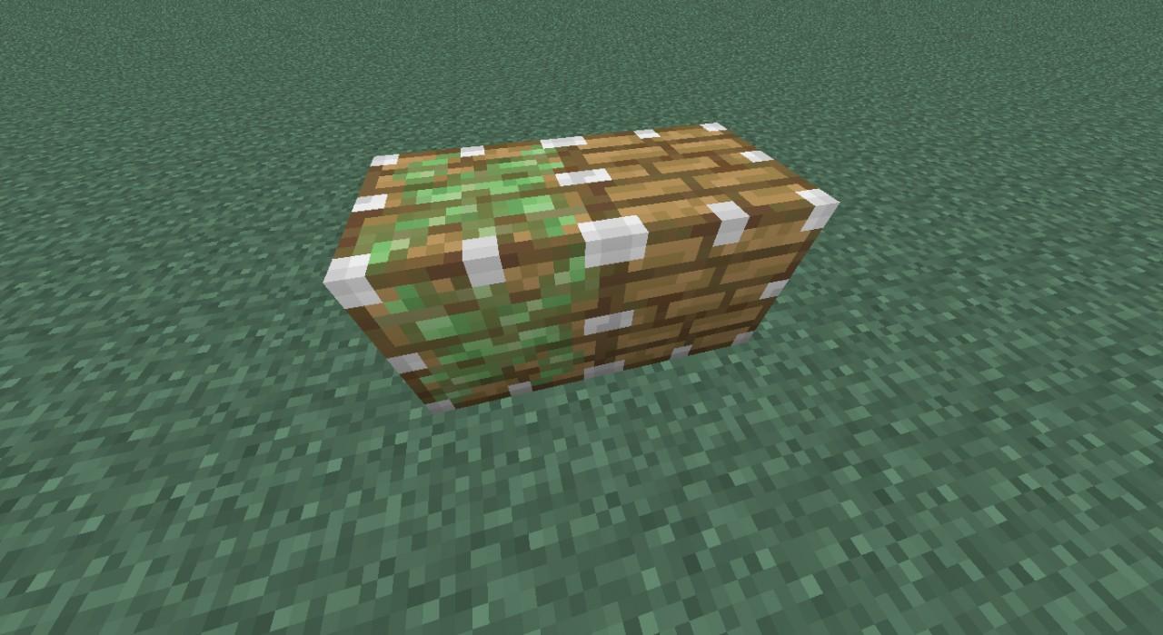 Glitched Piston blocks Minecraft Project
