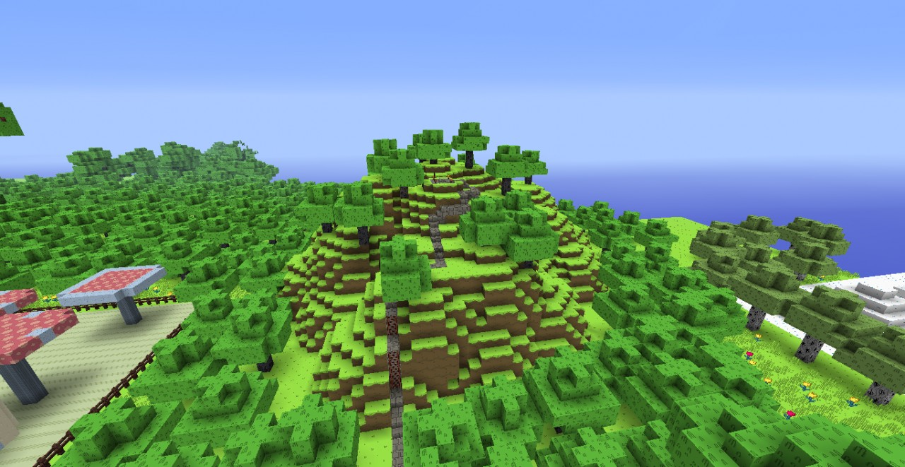 Big Grassy Hill (has Dungeon Inside)