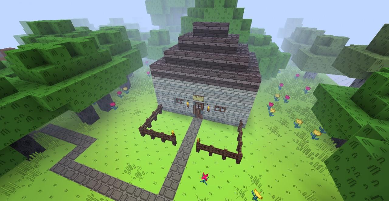 Tree Trunks House