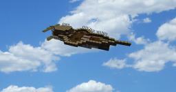 EWS(equinox war ship) Divine Wind Minecraft Project