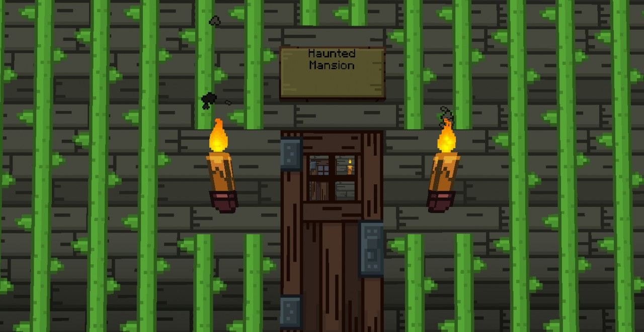 Haunted Mansion (Entrance) ( to see rest then wait till you download the map!)
