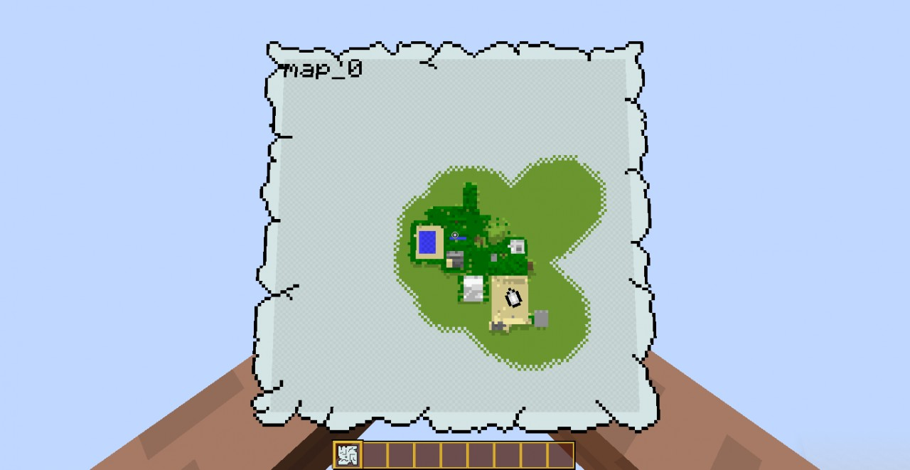 Map Overview (I would show the whole thing but The Land Of Ooo Wont Fit My Computer Screen!)