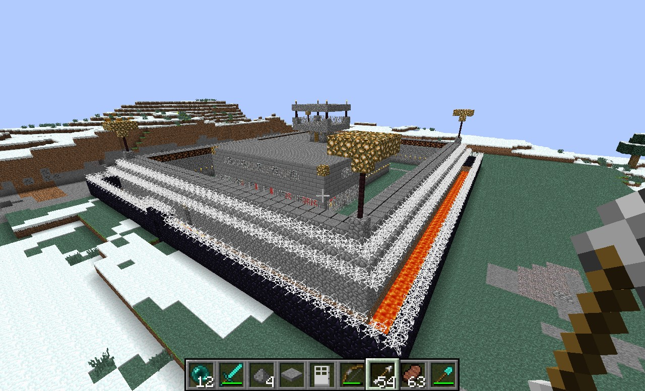 super safe house Minecraft Map