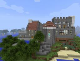 Heart Castle Minecraft Map & Project