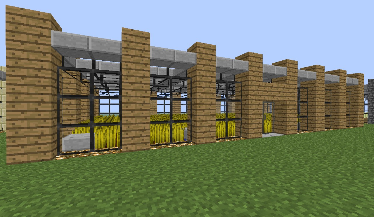 Minecraft Modern Farm Minecraft Project
