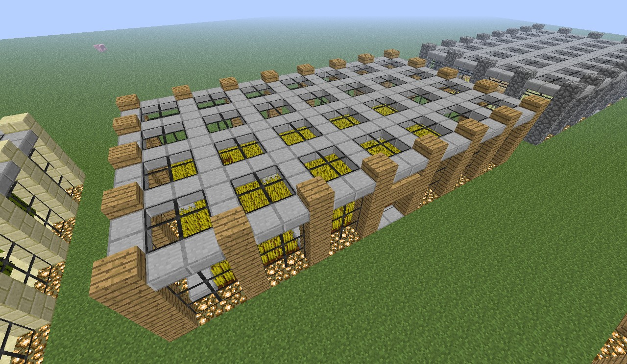 Minecraft Modern Farm Project
