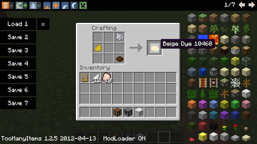 minecraft how to get orange dye