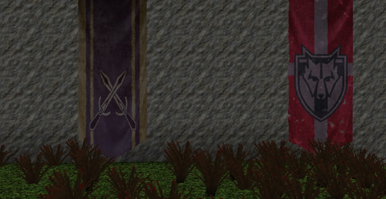 Faction Banners [Left: Riften | Right: Solitude]
