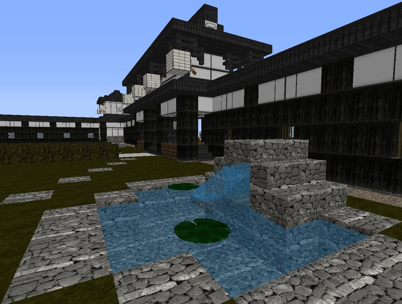 Japanese pagoda complex Minecraft Project