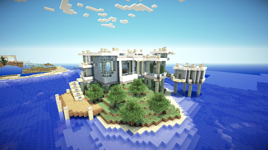 My luxury home schematic minecraft project for My luxury home