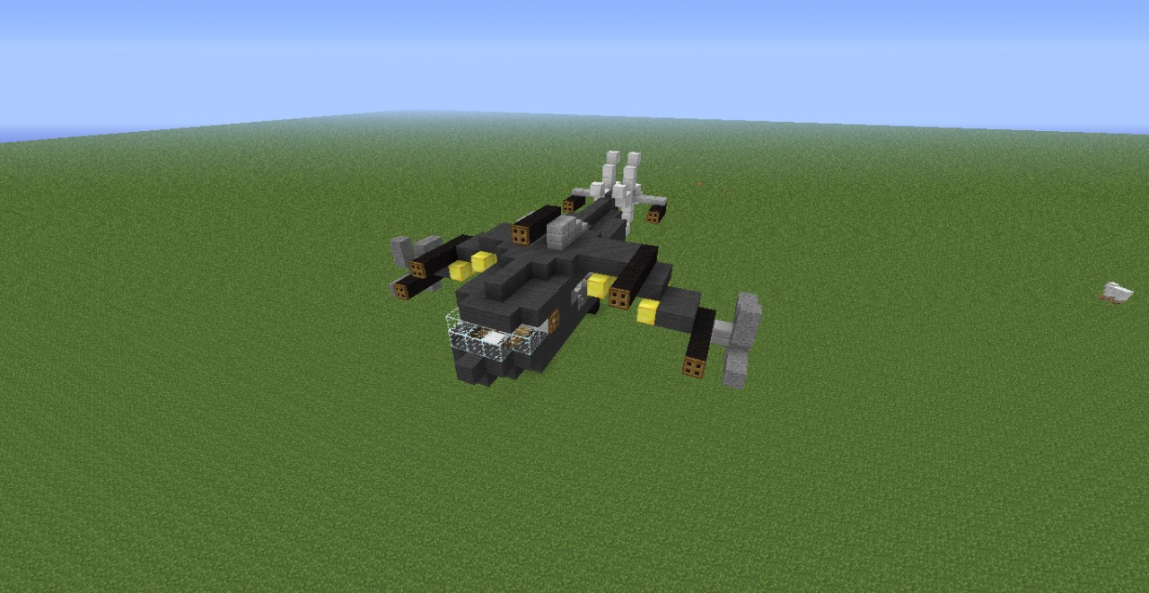 how to build a helicopter in minecraft xbox 360
