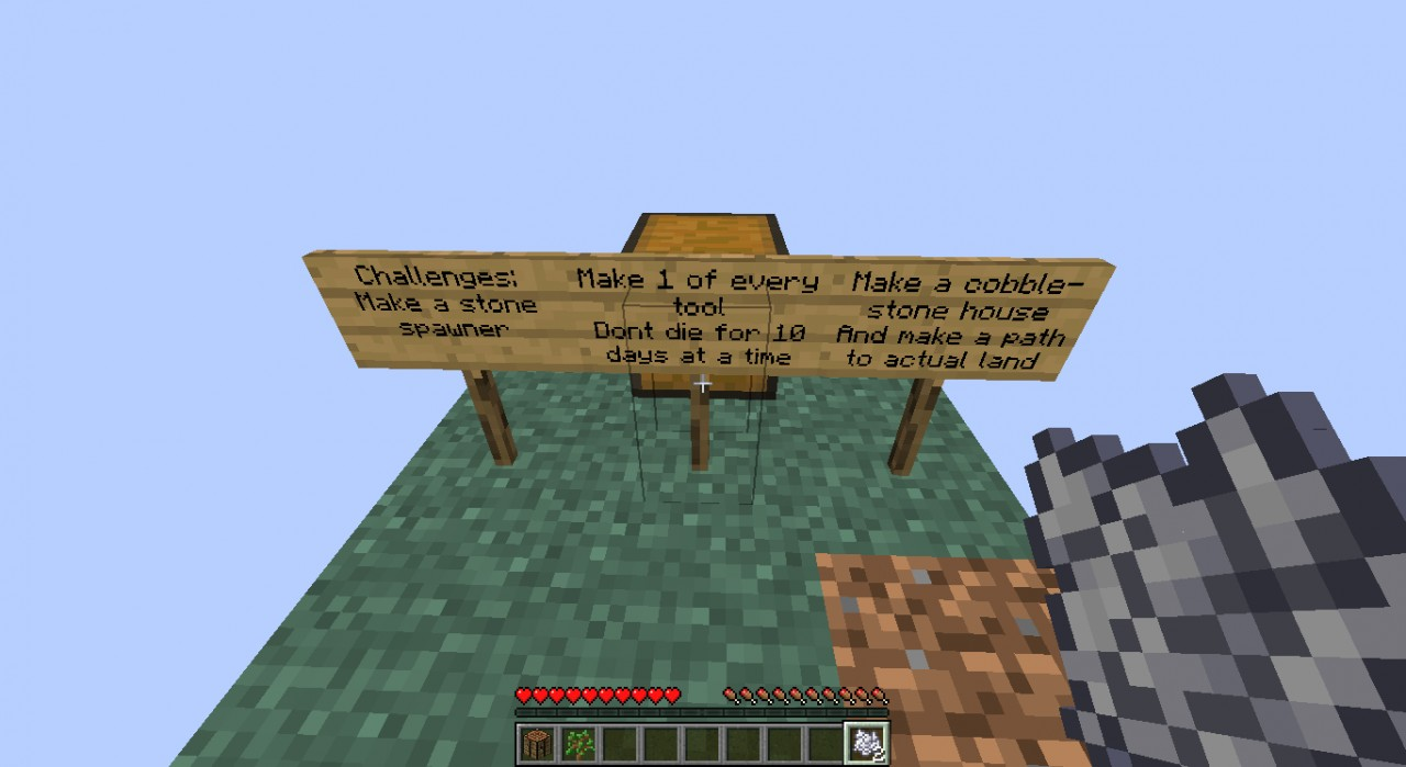 Meguydemo S Skyblock 1 1 Minecraft Project