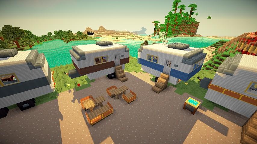 Simple Minecraft Caravan Nice Compact Merchant Caravan Minecraft Project