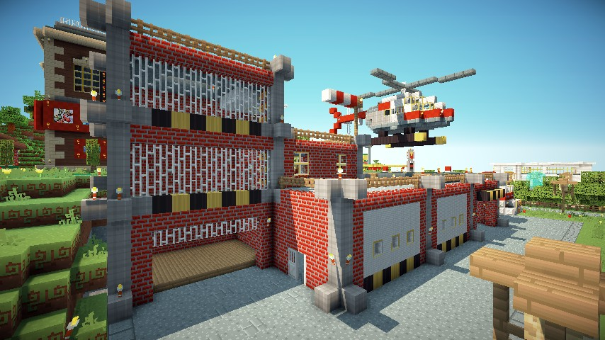Truck And Fire Station Minecraft Project - Wiring Diagram