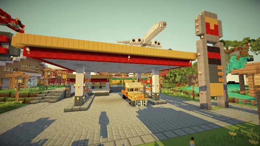 make a map on minecraft with Gas Station on Gas Station in addition Cliff House Tony Stark additionally Blaze Boss Fight likewise Watch further Call Of Minecaft.