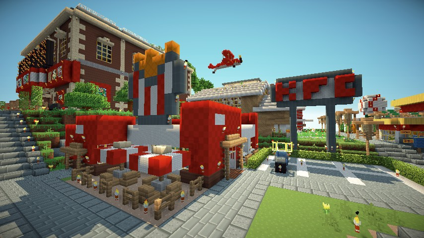 Kfc Kentucky Fried Chicken Minecraft Project