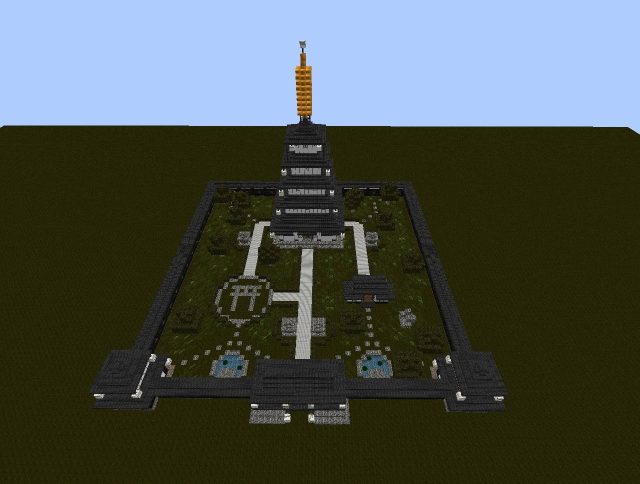 Minecraft Japanese Pagoda japanese pagoda complex minecraft project