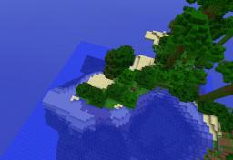 Jungle survival island Minecraft Map & Project