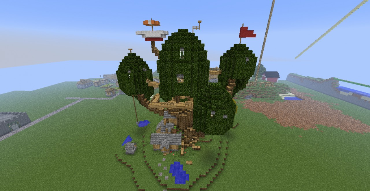 Adventure Time House Of Finn And Jake Minecraft Project