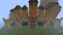 Asirvaia HQ & Cart Station Minecraft Map & Project