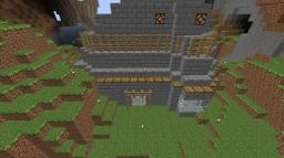 Epic House In Canyon!! Minecraft Map & Project