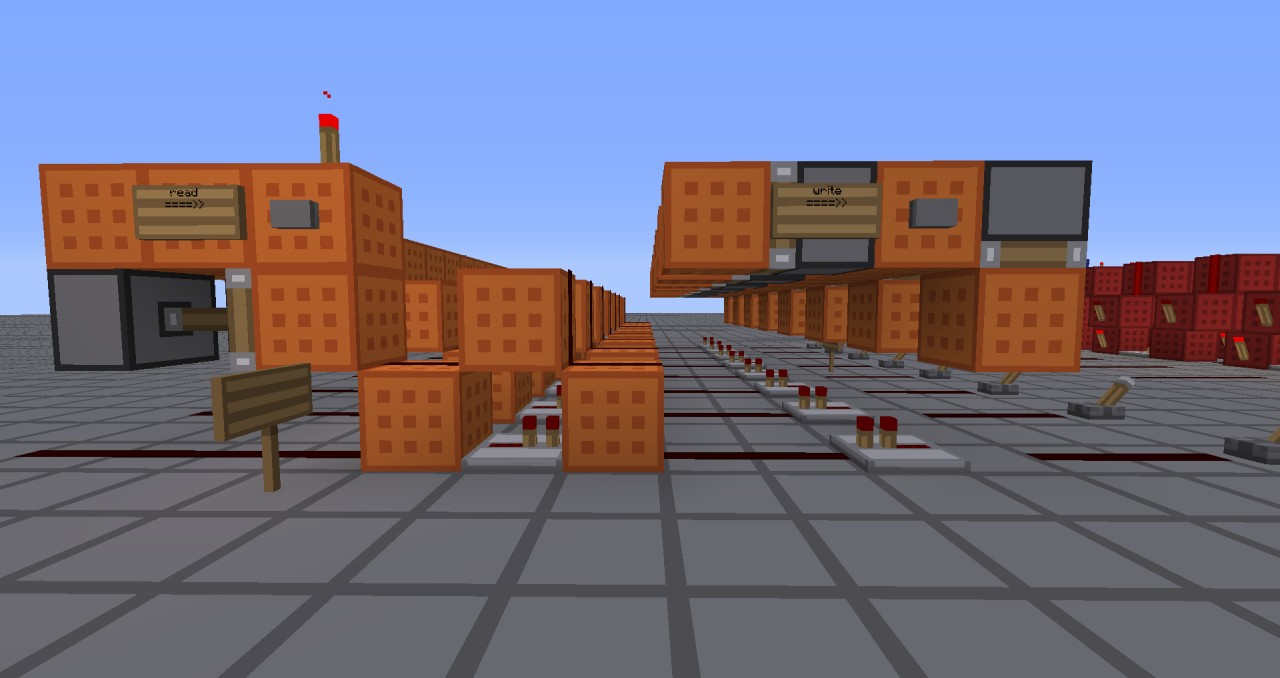Redstone CPU Minecraft Project