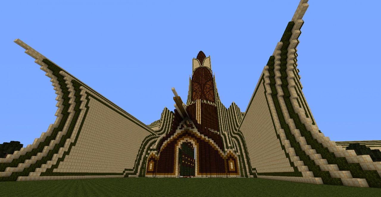 Forestreium Tower [Forest Biome Tower] Minecraft Project