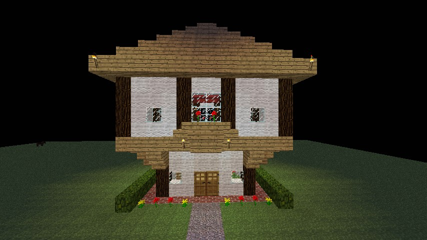 how to build a simple house in minecraft
