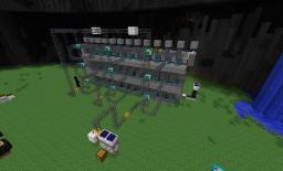100+ item sorter and delivery system  (tekkit) Minecraft Map & Project