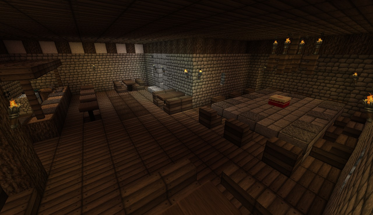 Medieval Inn Now With Interiors Minecraft Project