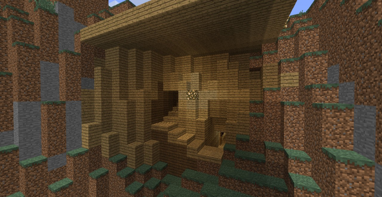 Mountain home d minecraft project - Mountain house projects ...
