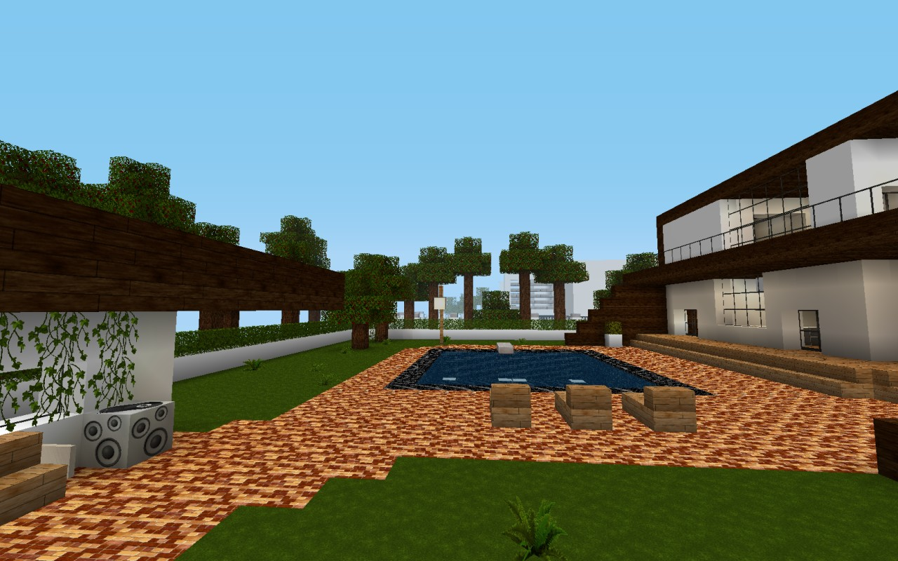 Modern house city project v 1 minecraft project for Modern house projects