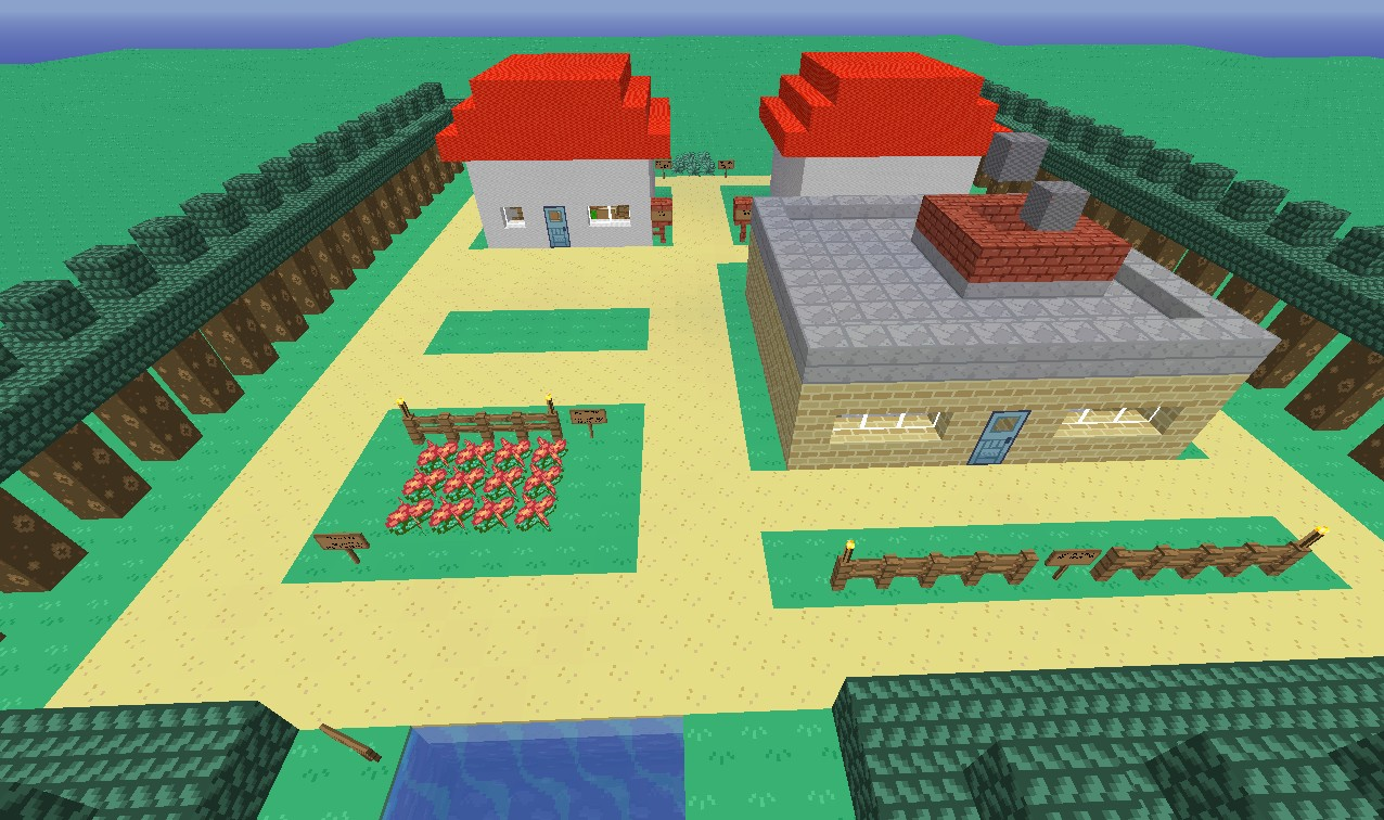 Kanto Region In Minecraft Minecraft Project