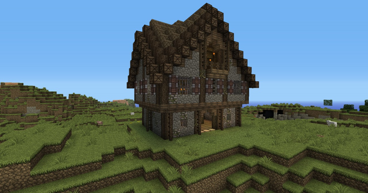 Old Medieval House Minecraft Map