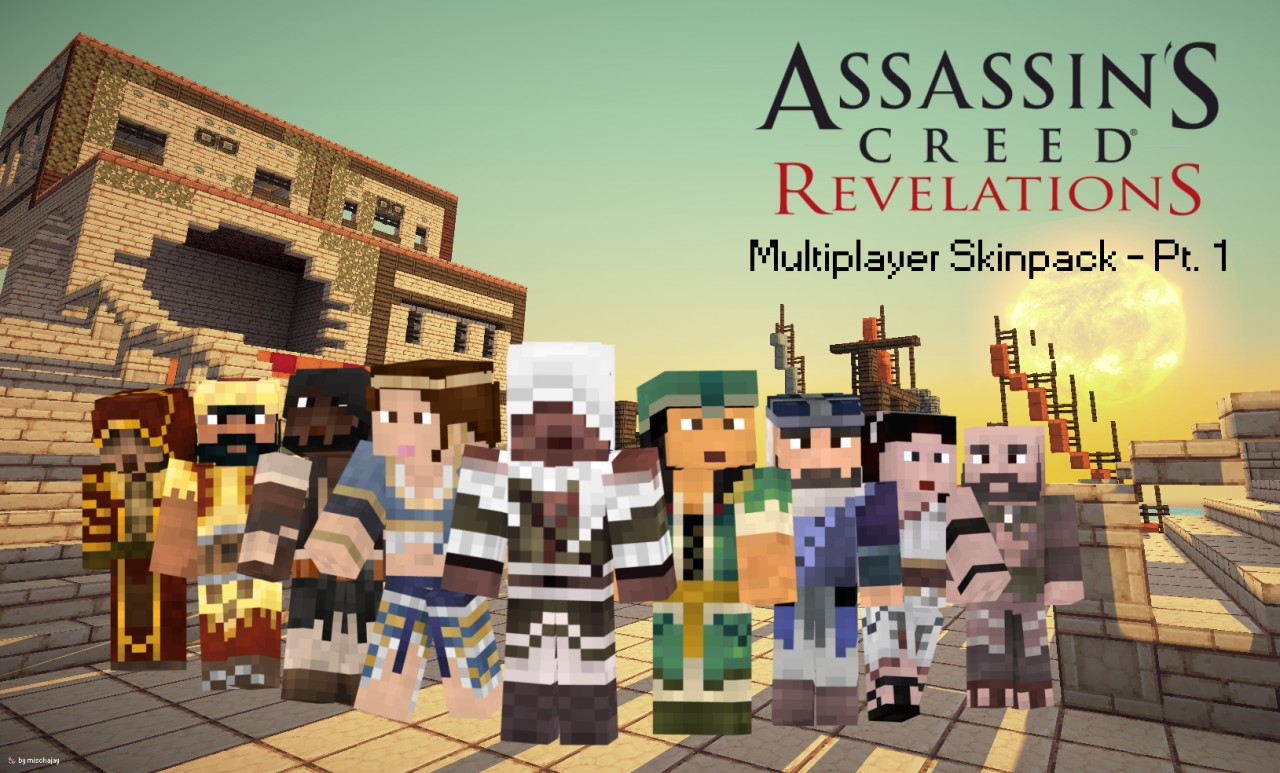 Beautiful Wallpaper Minecraft Assassin - ACRM-Skinpack-Pt-1-Wallpaper_2701807  Image_142720.jpg