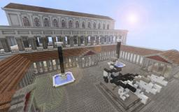 Roman Forum and Basilica Minecraft