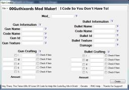 [Program]00Gs Mod Maker [ANY VERSION] Minecraft Mod