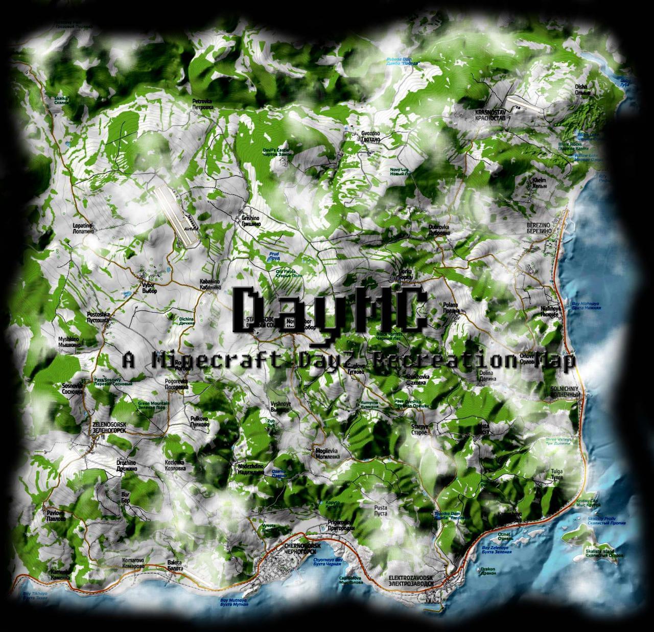 25 Luxury Dayz Map