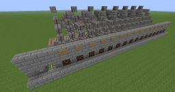Minecraft Bank with Infinite Slots Minecraft Map & Project