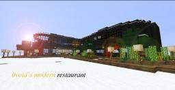 (first project) 0void's Modern Restaurant Minecraft Map & Project