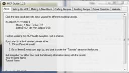 Minecraft Modding Guide 1.2.5 (Modding Tutorial Program) Minecraft