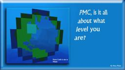 PMC: Is it all about what level you are? Minecraft Blog Post