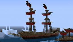 Rosebringer; My first ship! Minecraft Project