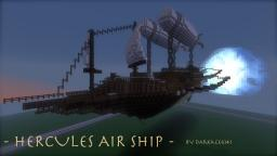 Hercules Air Ship Minecraft Map & Project