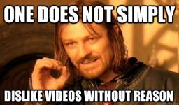 Don't dislike videos without reason, its pointless... Minecraft Blog