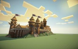 SkyCrown -Medieval Town (With Schematic!) Minecraft Map & Project