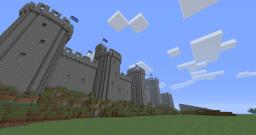 The Battle for Conwy Castle Minecraft