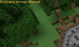 Exploding arrows for minecraft 1.2.5! Lagg free now! Minecraft Mod